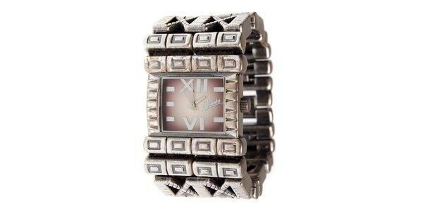 Dámske oceľové hodinky Memphis
