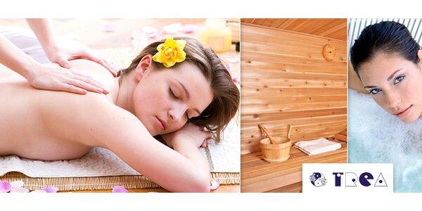 Kupón na masáže, kúpeľ, zábal alebo sauny pre telo aj dušu