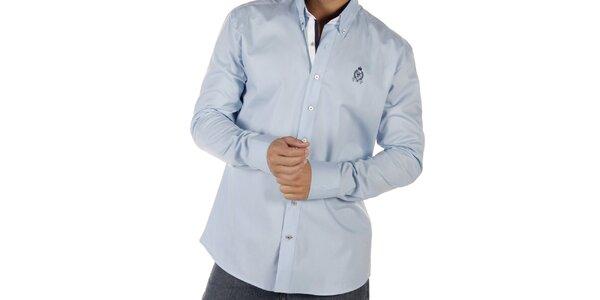 Pánska svetlo modrá košeľa CLK