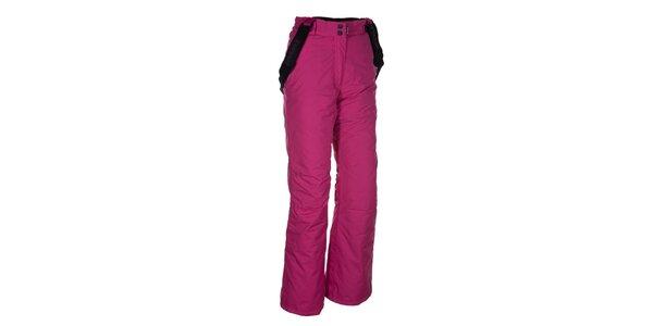 Dámske ružové nohavice na lyže Envy