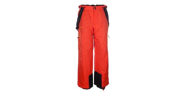 Pánske červené snowboardové nohavice Envy