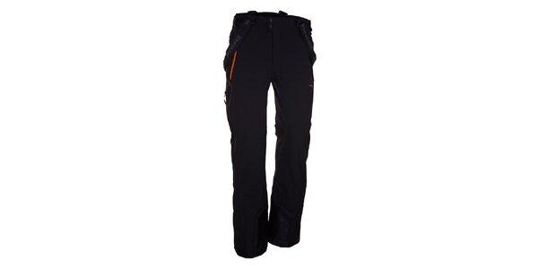 Pánske čierne lyžiarske nohavice Envy