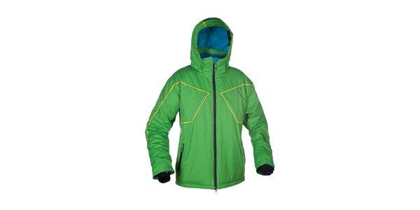 Pánska zelená lyžiarska bunda Envy