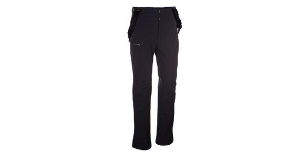 Pánske čierne softshellové nohavice Envy