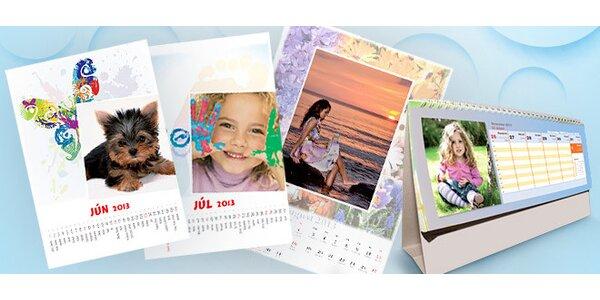 Kalendár na rok 2013 s vlastnými fotkami