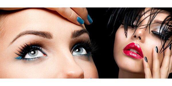 Make-up, farbenie a formovanie rias a obočia