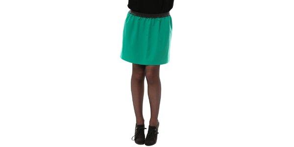 Dámska smaragdová sukňa do pása My Little Poesy