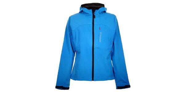 Dámska svetlo modrá softshellová bunda Trimm Berga