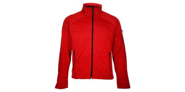 Pánsky červený športový sveter Trimm