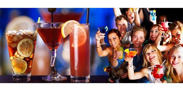 2 ľubovoľné miešané drinky v Bowling Disco Clube