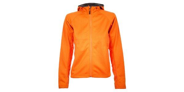 Dámska sýto oranžová softshellová bunda Trimm Shelton
