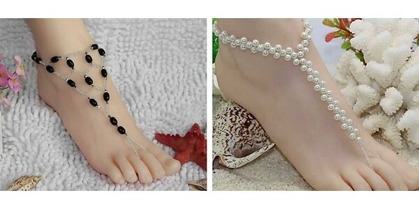 Elegantné a jedinečné ozdoby na nohu