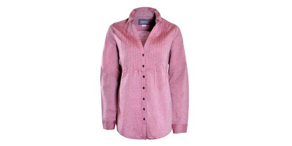 Dámska voľná ružová košeľa Urban Surface