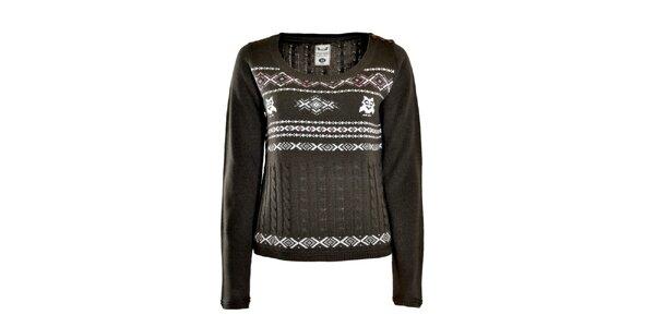 Dámsky antracitový sveter Fresh Made