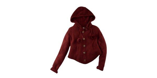 Dámsky sveter s kapucňou Fresh Made