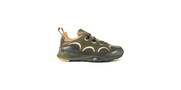 Pánske multifunkčné športové topánky s oranžovými detailmi Tecnica