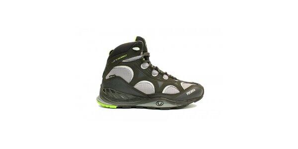 Pánska multifunkčná obuv Tecnica v čiernej farbe