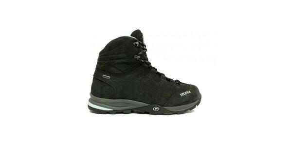 Dámske členkové čierne trekové multifunkčné topánky Tecnica