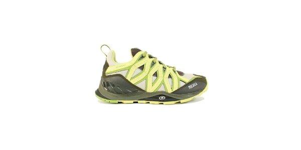 Dámske multifunkčné žltozelené športové topánky Tecnica