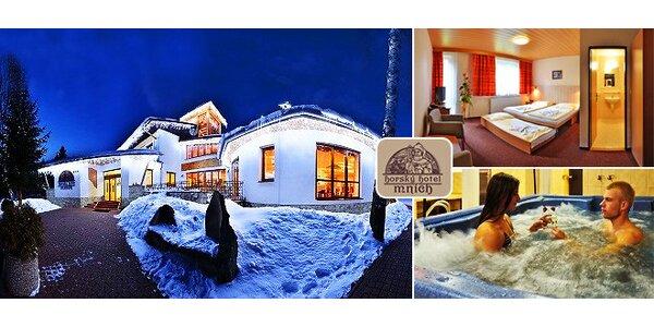 Lyžovačka hotel Mních***