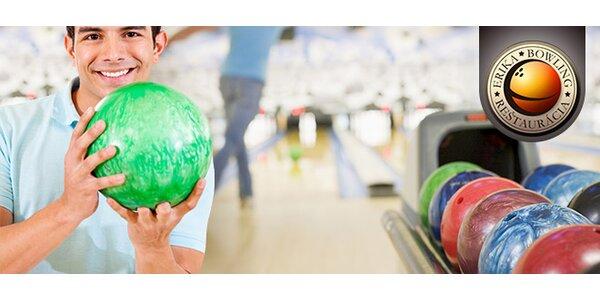 Hodina bowlingu v reštaurácii Bowling Erika