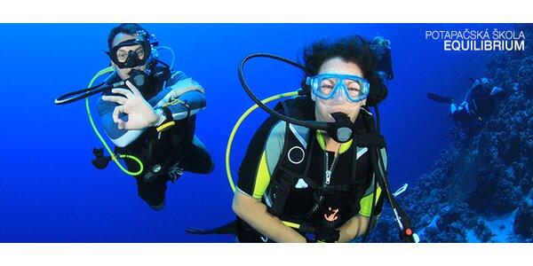 Certifikovaný potápačský kurz