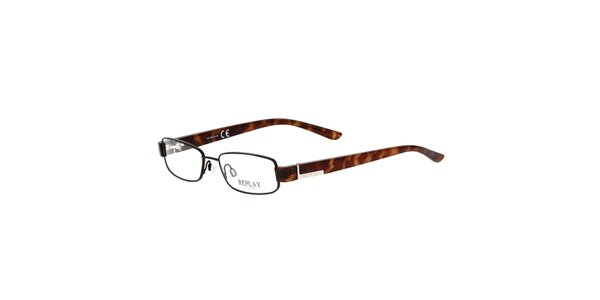 Pánske okuliare s jemnými rámami Replay