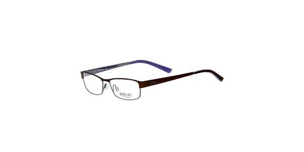 Dámske okuliare s jemnými rámami Replay
