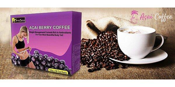 Káva na chudnutie s Acai Berry