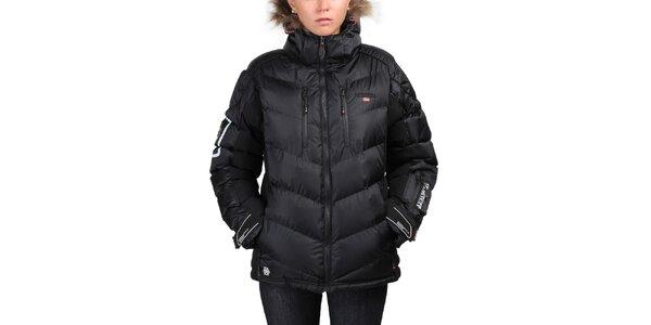 Dámska čierna zimná bunda Geographical Norway