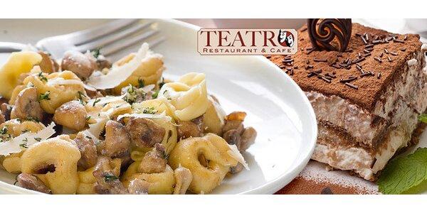 Talianska večera pre dvoch