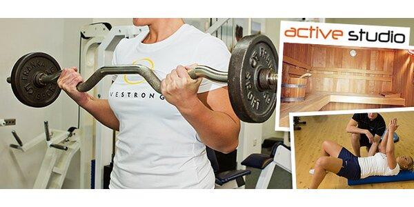 2 vstupy do fitness centra alebo mesačná permanentka
