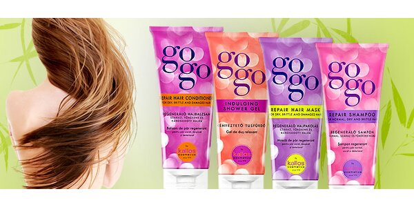 Balíček kozmetických prípravkov Kallos Gogo
