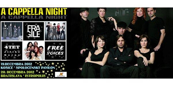 Koncert A cappella night