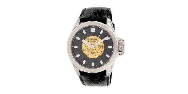 Pánske strieborné hodinky s automatikou Esprit