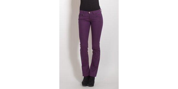 Dámske fialové nohavice Phard
