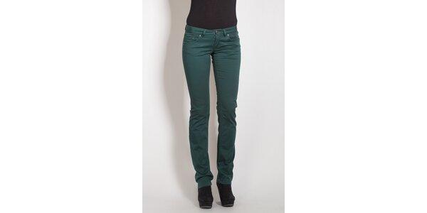Temno zelené nohavice Phard