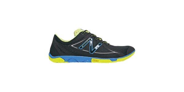 Pánske čierno-modro-žlté bežecké topánky New Balance