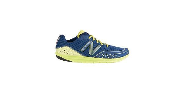 Pánske zeleno-modré bežecké topánky New Balance