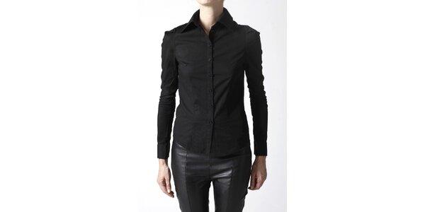 Dámska čierna košeľa Gene