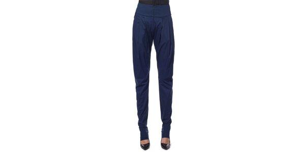 Dámske modré voľné nohavice Gene