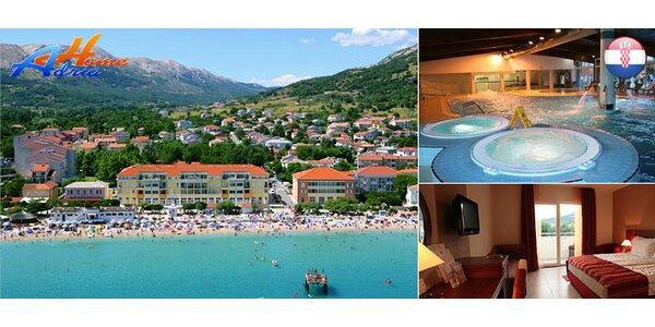 Predĺžený májový víkend v aparthoteli**** v BAŠKE na ostrove KRK v Chorvátsku