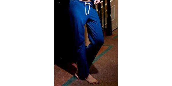 Dámske modré pyžamové nohavice Les Affaires