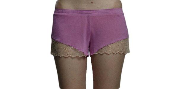 Dámske ružové nohavičky Les Affaires