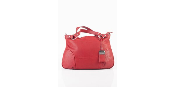 Dámska červená kabelka Fuchsia