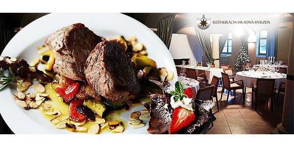Valentínske trojchodové menu v Bratislave