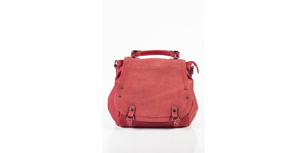 Dámska tmavo ružová kabelka Fuchsia
