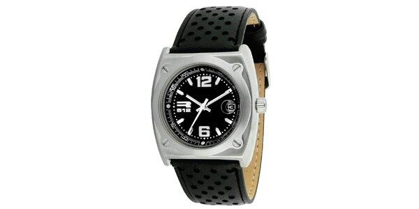 Oceľové hodinky s dátumovkou RG512