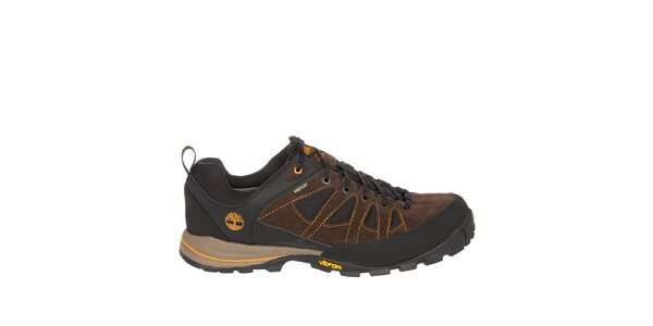 Pánske hnedo-čierne nízke trekové topánky Timberland