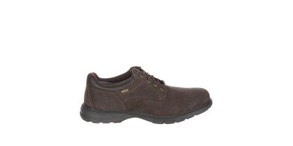 Pánske nízke čokoládovo hnedé voľnočasové topánky Timberland